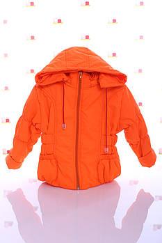 Куртка Под Резинку оранжевая