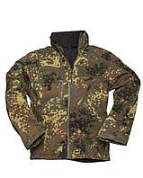 Куртка софтшел лесной камуфляж SCU 14 FLECTAR