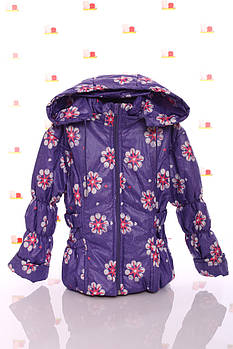 Куртка Под Резинку фиолетовая со звездами