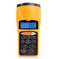 Лазерная линейка AOQI OQ03 Yellow 0.55-18.288 м (hub_np2_0897)