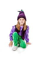 Детский карнавальный костюм для мальчика «Баклажан» 110-120 см, фиолетовый