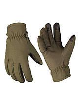 Перчатки Soft Shell Mil-Tec олива