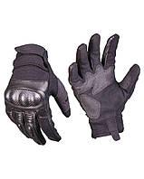 Тактические перчатки кожа черная GEN.II Милтек