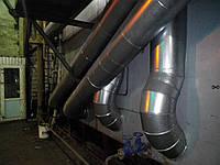 Монтаж теплоизоляции паропроводов