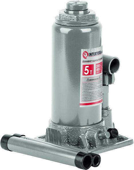 Домкрат Intertool вертикальный (бутылочный) гидравлический 5 т GT0023