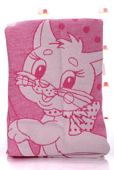 Одеяло 100*140 см с котенком