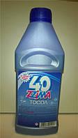 Охлаждающая жидкость (готовая) Тосол Зима А-40   1л