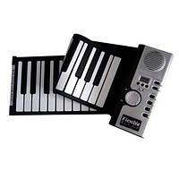Гибкая MIDI клавиатура, синтезатор, пианино, 61 клавиша (FD1787)
