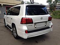 Накладка заднего бампера Lexus LX 570 Luxury