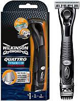 Мужской станок Wilkinson Sword Schick Quattro Titanium Precision 1 картридж (1042)