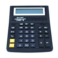 Калькулятор настольный бухгалтерский 20х15см 12-разрядный SDC-888T (FD2128)