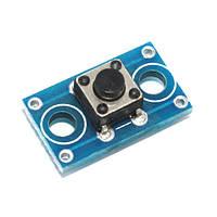 Кнопка тактовая, микрик 6х6мм на плате модуль 4pin (FD2225)
