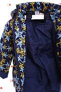 Комбинезон Классика синий со звездами, фото 4