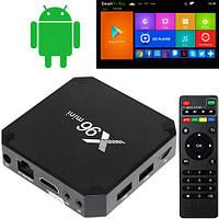 Медиаплеер Android Smart TV Box Amlogic S905W 2/16ГБ X96 Mini (FD2532)