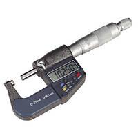 Микрометр цифровой 0-25мм, 0.001 мм точность, DSWQ0-100II в футляре (FD2547)