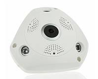 Панорамная IP-камера видеонаблюдения CAD 1317 Белая (200125)