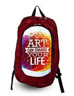 Рюкзак с фотопечатью Искусство