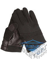 Перчатки тактические неопрен/кевлар черные