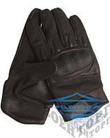 Перчатки NOMEX ACTION с костяшками черные