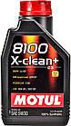 Моторное масло Motul 8100 X-Clean+ 5W-30 1 л, фото 2