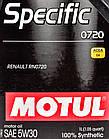 Моторное масло Motul Specific 0720 5W-30 1 л, фото 2