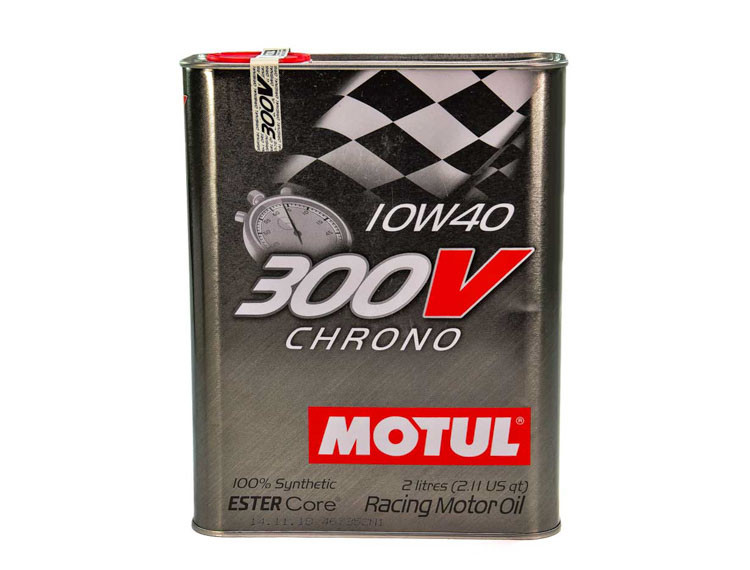 Моторное масло Motul 300V Chrono 10W-40 2 л