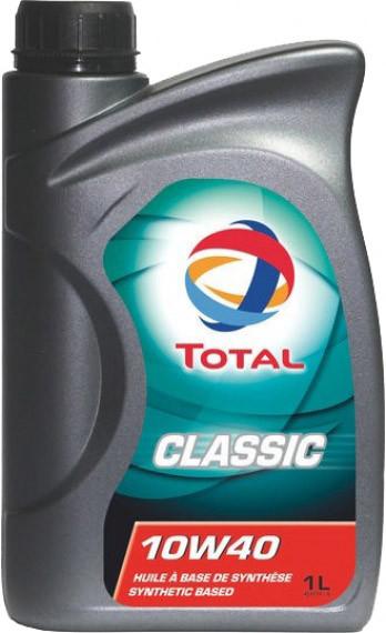 Моторное масло Total Classic 10W-40 1 л