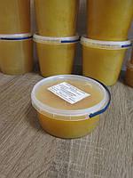 """Мед """"Різнотрав`я + Соняшник"""" 0,5 л., 100 % зрілий мед / Мёд """"Разнотравья + Подсолнух"""" 0,5 л., 100% зрелый мёд, фото 1"""