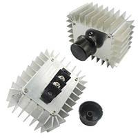 Регулятор напряжения AC 220В 5000Вт термостат диммер мощности (FD3493)