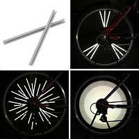 Светоотражающие рефлекторы на спицы велосипеда, 12 (FD3616)