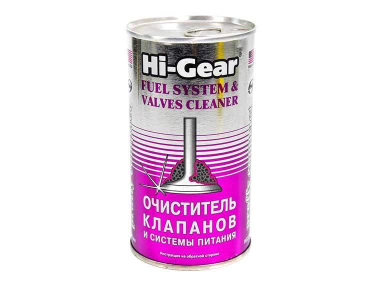 Присадка Hi-Gear Тотальный очиститель системы питания и клапанов 295 мл