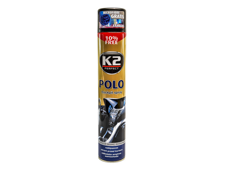 Поліроль для салону K2 Polo Cockpit нова машина 750 мл