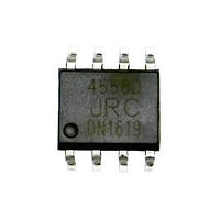 Чип JRC4558D JRC4558 SOP8, Операционный усилитель 2-канальный (FD4291)