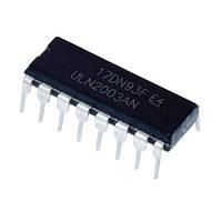 Чип ULN2003AN ULN2003 DIP16, Транзисторная сборка Дарлингтона 50В 500мА (FD4367)