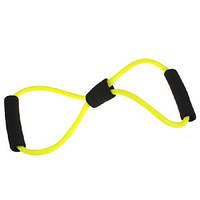 Эспандер восьмерка из латекса для фитнеса и йоги (FD4495)