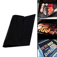 Антипригарный коврик для гриля барбекю решетки тефлоновый 40x33см (FD4505)