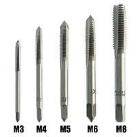Набор из 5 метчиков для нарезания внутренней резьбы M3 M4 M5 M6 M8 (FD4516)