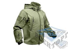 Тактическая куртка олива Soft shell