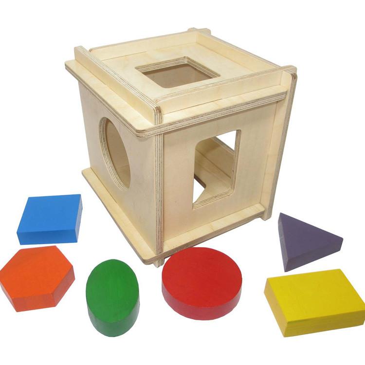 Детский сортер-трансформер (деревянный)