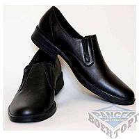 Туфли офицерские с круглым носком