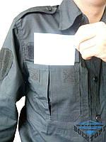 Рубашка рип стоп темно-синяя/черная Pancer