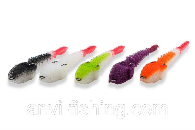 Набор поролоновых рыбок Levsha NN 3D Stream V, W, Wbl, WLgr, Wor