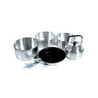 Набор посуды KingCamp Camper 4(KP3903) Silver