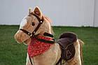 Лошадка качалка, конь качалка, лошадь качалка коник гойдалка с музыкой, фото 3