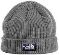 Мужская шапка The North Face (ориг.бирка) серый