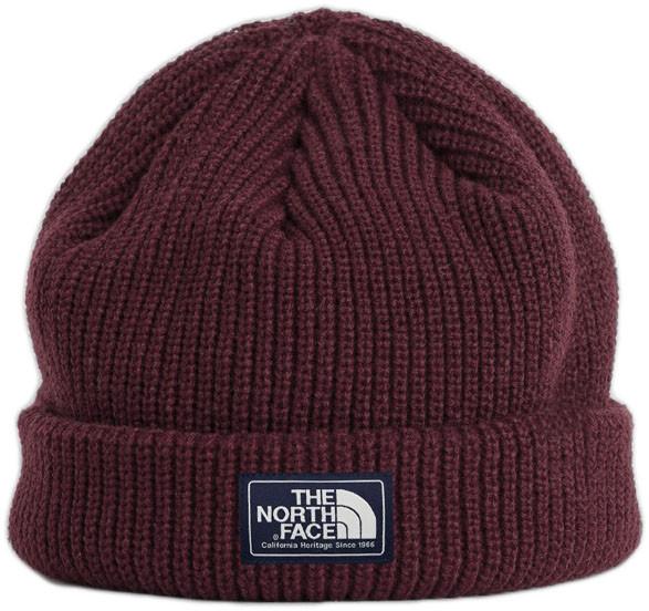 Мужская шапка The North Face (ориг.бирка) красный
