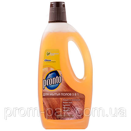 Средство для мытья деревянного пола Пронто 5 в 1, фото 2