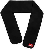 Мужской шарф Puma (ориг.бирка) черный с красным