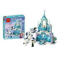 Конструктор для девочек Волшебный ледяной замок Эльзы 669 деталей Bolx Frozen 82105 (Аналог Lego Disney Princess 41148)