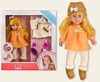 Кукла YH5019-01D  курточка,аксессуары, в кор.38*11,5*41,5см